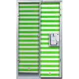 LockerLookz Locker Wallpaper - Green Stripe - 24 pieces Photo #1