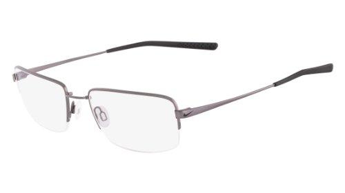 Nike Eyeglasses 4195 010 Dark Grey/Black Demo 56 19 145