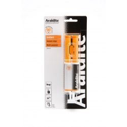 Araldite Rapid Instant Clear Adhesive Glue 24ml Syringe by Araldite