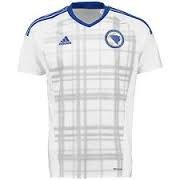 adidas Soccer Replica Jersey: adidas Bosnia And Herzegovina Away Replica Soccer Jersey 2016 L