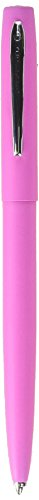 Fisher Space Pen M4 Series, Pink Cap and Barrel, Chrome Clip (M4PKCT) by Fisher