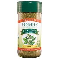 Frontier Natural Products Italian Seasoning Salt Free Blend -- 0.64 oz by Frontier