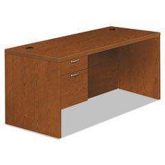 30d Bourbon Cherry (** Valido 11500 Series Left Pedestal Desk, 66w x 30d x 29 1/2h, Bourbon Cherry)