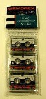 Memorex Micro Cassettes MMC MC-60 (Pack of 3) by Memorex
