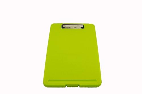 Tytroy Slim Apple Green Plastic Storage Clipboard Letter Size Clipboard