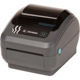 Zebra GX42-202710-000 GX420D Direct Thermal Printer, 203 DPI, Monochrome, 6'' H x 6.75'' W x 8.25'' D, With Wi-Fi and LCD Display