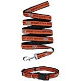 Pets First Oregon State Beavers Nylon Collar and Matching Leash for Pets (NCAA Official Size Large