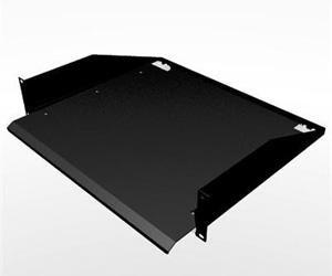 Penn Elcom R1194/2UK-SL 2 Space (2U) Sliding Rack Shelf/Keyboard Tray, 15'' Depth