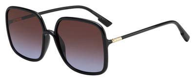 (Dior SO STELLAIRE 1 Black/Violet Shaded 59/17/145 Women Sunglasses)