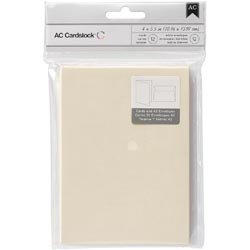 Bulk Buy: American Crafts  A2 Cards & Envelopes  12/Pkg Vani