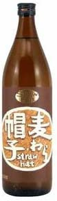 薩摩酒造 麦わら帽子 麦焼酎 25度 900ml ×12本