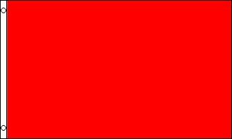 Red Nylon Blank (3x5 FT Red Solid Color Blank Flag Nylon Flag)