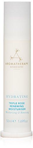 Aromatherapy Associates Hydrating Triple Rose Renewing Moisturizer, 1.69 Fl Oz (Rose Aromatherapy)