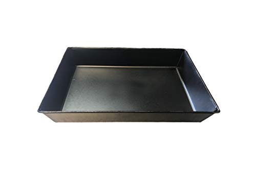 8 x 10 - Authentic STEEL Detroit Style Pizza Pan (Seasoned)