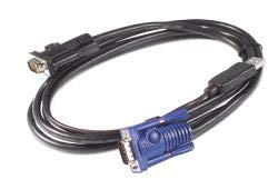 Apc by schneider electric - ap5253 - keyboard / video / mouse (kvm) cable - 4 pin usb - Apc Mouse Usb