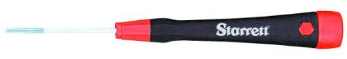 Starrett Steel Screwdriver - Starrett 551C Precision Chromium Vanadium Steel Slotted Screwdriver, .100