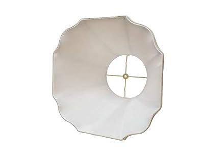 Royal Designs Flare Bottom w Outside Corner Scallop Basic Lamp Shade