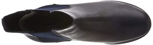 Bianco Chelsea Blue Cleated Bleu Femme navy Boots 300 Warm rvqwCr