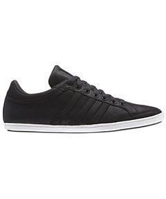 adidas Originals Men's Plimcana Low-1 Trainers black1/carbo black black - black Size