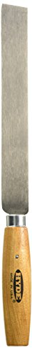 Hyde Tools 60780 Square Point Knife, 8-Inch by 1-Inch/14-Gauge Wood Handle
