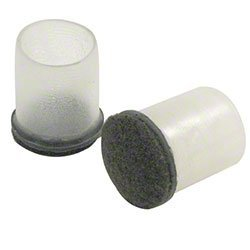 Expanded Technologies Clear Sleeve Floor Protector 1-1/2-1-5/8'' 100/pk by Expand Technologies