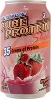 Pure Protein Rtd Sbrry Cr Size 11z Pure Protein Rtd Strawberry Cream Shake Single 11z