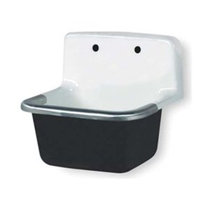 Service Sink Wall Hung Cast Iron Wall Mounted Sinks