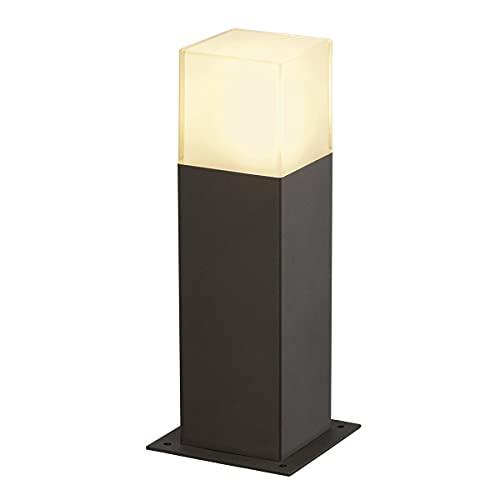 Slv grafit sl 30 - Luminaria exterior e27 11w aluminio/antracita