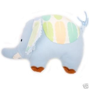 (Plush Character Rattle Elephant 6