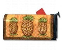 Magnet Works, Ltd. Pineapple Welcome Mailwrap(R) Mailwraps Pineapples