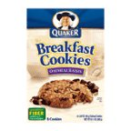 Quaker Oatmeal Raisin Cookies (Quaker Breakfast Cookies Oatmeal Raisin 10.1 Oz - 6 Pack)