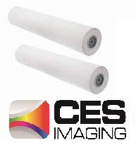 2 Rolls 24'' X 300' (24 Inch X 300 Foot) 20lb Bond Paper 2'' Core. By CES Imaging