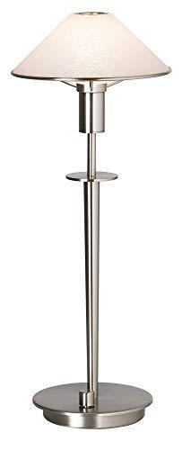 Holtkoetter 6514 SN SW Halogen Table Lamp, Satin Nickel ()