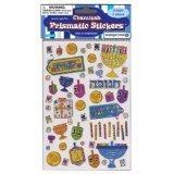 Prismatic Hanukkah Sticker Sheets (Chanukah Stickers)