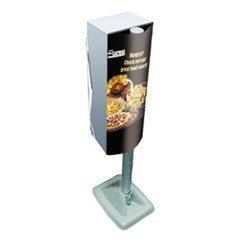 KCC09023 Mega Cartridge Napkin System Dispenser, 8 3/4 x 6 3/8 x 23 1/4, Gray