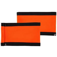 Orange Referee Arm Bands (compatible with Force & CCM Jerseys) - Referee Armband