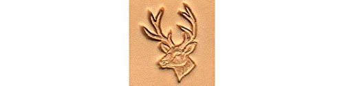 Tandy Leather Whitetail Deer Craftool 3-D Stamp 88437-00 Deer Stamps