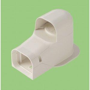 10個セット 配管化粧カバー 換気用出口化粧カバー(先付用) 77タイプ ホワイト KK2-75S-W_set