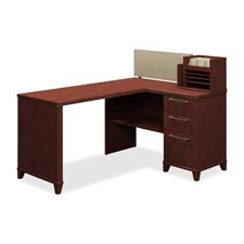 30w Drawer 2 Lateral File - Bush Business Furniture Enterprise Collection 30W 2-Drawer Lateral File in Harvest Cherry