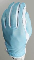- Evertan Women's Tan Through Golf Glove: Fantasia Blue - Medium Left Hand