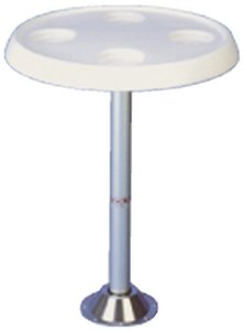 Todd Enterprises Table Top Only Round White