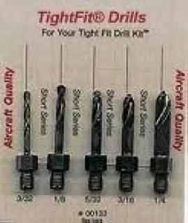 Size Cobalt Long Stubby Threaded Shank Drill Bit #30 Set of 2