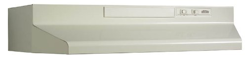 Broan F404208 Two-Speed Four-Way Convertible Range Hood, 42-Inch, Almond from Broan