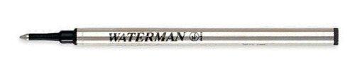 Waterman ROLLER - Refill per penna a sfera, colore: Blu - METAL INOX - 54080 FINE 540961