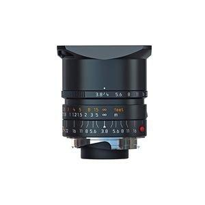 Leica 24Mm F 3 8 Elmar M Aspherical  Manual Focus  6 Bit Coded  Lens For M System   Black   U S A  Warranty