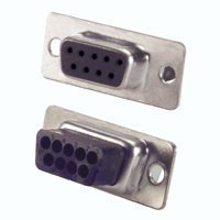 (Pc Accessories-Db9 Female D-Sub Crimp Type Connector, 25 Pcs PK)