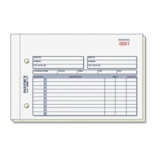 (Rediform 7L721 Invoice Book 5 1/2 x 7 7/8 Carbonless Duplicate 50 Sets/Book)