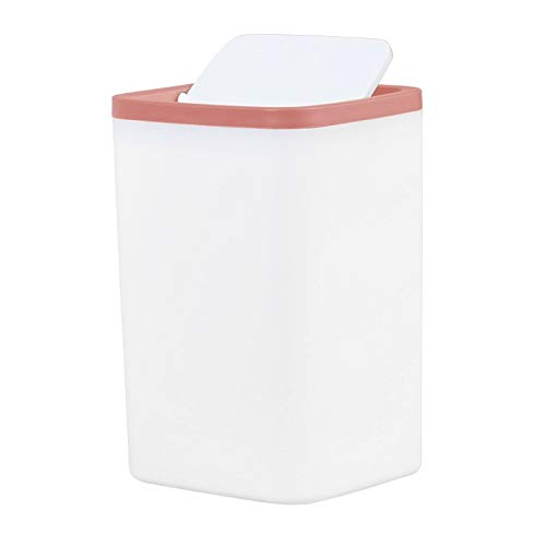 Trash Car Waste Bin Small Trash Can Mini Desktop Ashcan Litter Trash Little Tabletop Trashbox for Desk Car Trash Bin