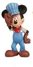 Disney Mickey Mouse Clubhouse Policeman Fireman Mickey Pvc Cake Topper 2.5