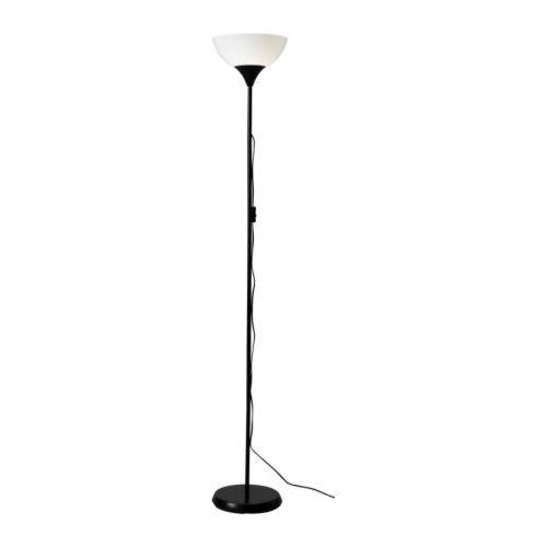 Ikea 101.398.79 NOT Floor Uplight Lamp, 69-Inch, Black/White by IKEA